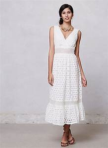 Summer white casual wedding dresses styles of wedding for White casual wedding dress