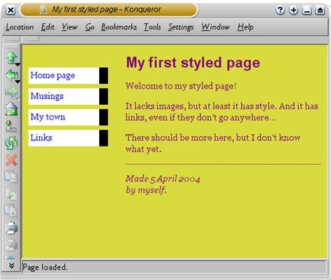 Example Resume Example Css Stylesheet