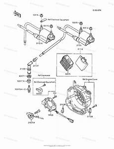Kawasaki Motorcycle 1992 Oem Parts Diagram For Ignition