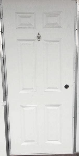 elixir  panel exterior outswing door  knocker  viewer lh ml mobile home supply