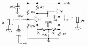 Diagram Ingram  Simple Tone Booster Schematic Diagram