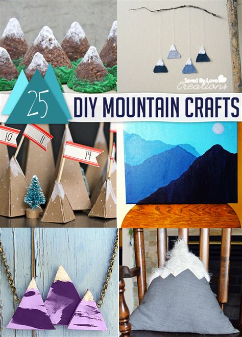 diy mountain crafts  decor tutorials mountain