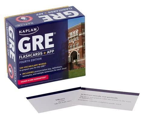 Cheapest Copy Of Gre Vocabulary Flashcards + App (kaplan Test Prep) By Kaplan Test Prep