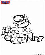 Minecraft Coloring Pages Silverfish Scribblefun Printable Characters sketch template
