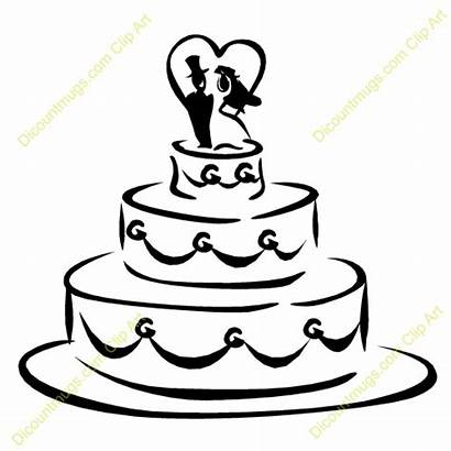 Cake Clipart Cartoon Clip Cliparts Heart Clipground