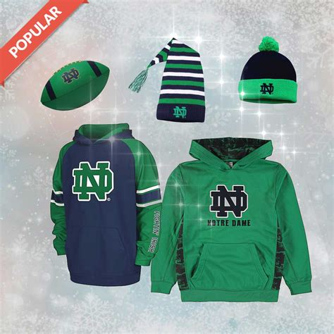 christmas gifts for notre dame fans gift ideas notre dame youth boy gift ideas notre dame