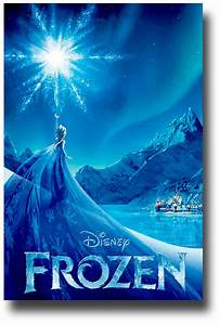 Buy Frozen Posters – Disney Movie – Lake >>ConcertPoster.org