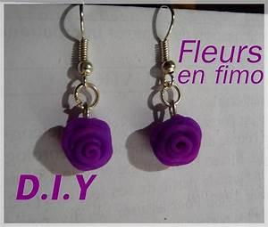 Tuto Pate Fimo : tuto boucles d 39 oreilles fleurs fimo youtube ~ Dode.kayakingforconservation.com Idées de Décoration