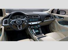 Jaguar IPace interior dashboard