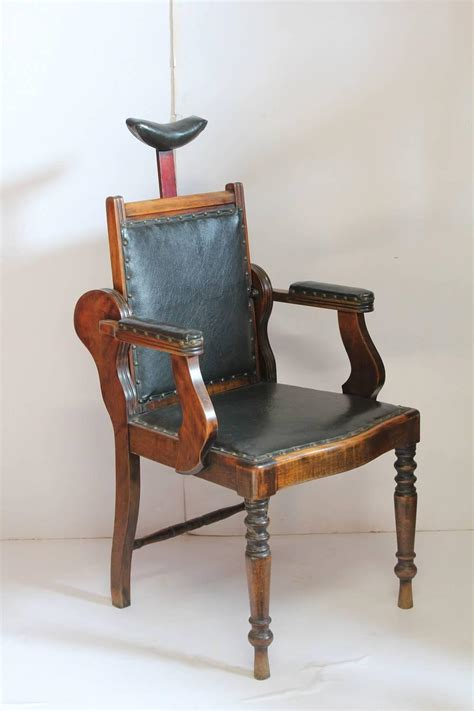 unique furniture antiques for sale unique antique leather and wood adjustable chair