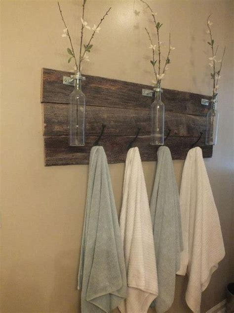 Towel Rack Ideas For Small Bathrooms by Towel Rack Decoration Ideas To Match Your Minimalist