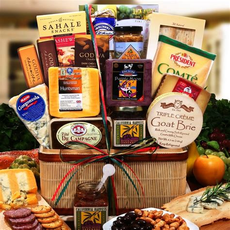 meat and cheese gift basket gourmet artisianal meat and cheese collection cheese