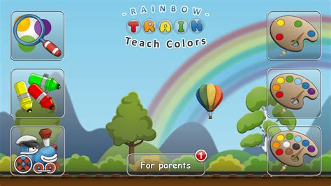 top 8 free preschool apps for android users 735 | Rainbow Train