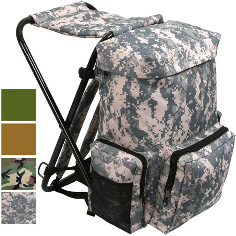 backpack stool combo cing outdoor pack ebay - Stool Backpack