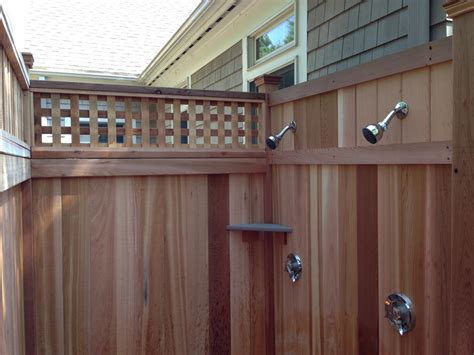 On Shower Cape Cod Outdoor Shower Company Some Of Our Work