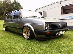Golf 2 Bbs : volkswagen mk2 golf 1 3l 1990 air ride bbs wheels in ~ Jslefanu.com Haus und Dekorationen