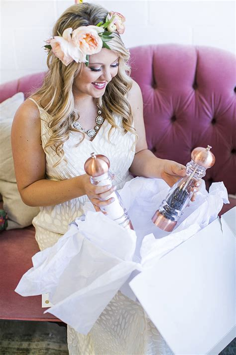 What To Give On Bridal Shower - bridal shower gift table ideas crate and barrel