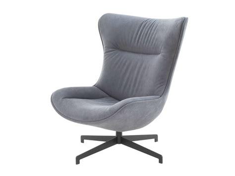 Swivel Upholstered Armchair Amy By Roset Italia Design