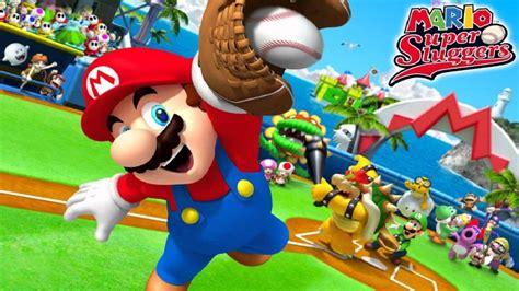 Mario Super Sluggers Music Character Select Youtube