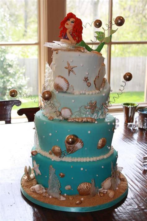 ariel wedding cakes