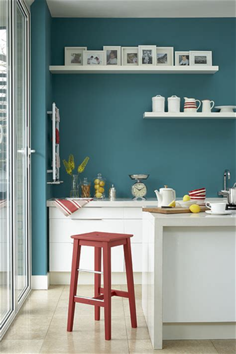 turquoise kitchen walls kitchen with turquoise wall copyright little greene imag flickr photo sharing