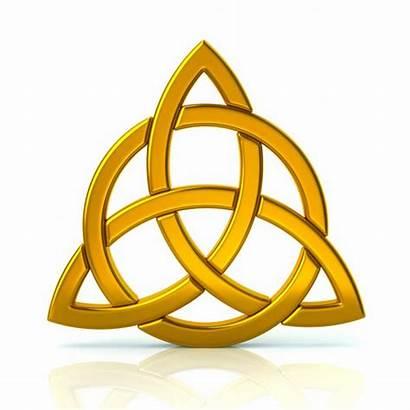 Celtic Trinity Knot Background Symbol Triquetra Illustration