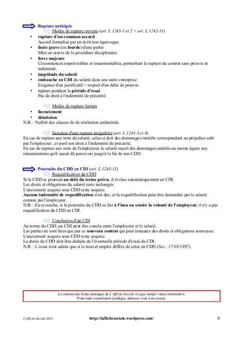 modele de lettre de demission cdd exemple lettre de demission cdd commun accord