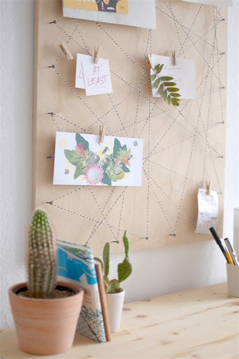 Memoboard Selber Machen by At Least Pinnwand Diy Memoboard Selber Machen