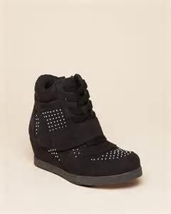 Little Girls Wedge Sneakers