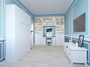 Bs Möbel Schrankbett : schrankbett 140x200 cm vertikal wei schrankklappbett wandbett ideal als g stebett ~ Indierocktalk.com Haus und Dekorationen
