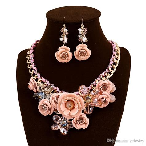 jewelry set rose jewelry sets european fashion luxury