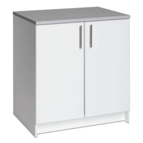 home depot kitchen storage cabinets prepac elite 32 in wood laminate cabinet in white web 7132