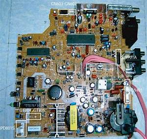Electro Help  Samsung Cl21k40 - Crt Tv - Service Mode - Circuit Diagram