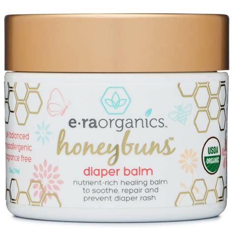 Honeybuns Nappy Rash Cream 60ml Usda Certified Organic