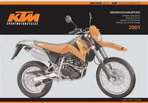 2001 Ktm 400 640 Lc4