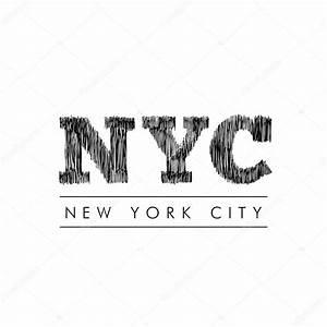 New York Schriftzug : new york city lettering nyc stock vector igor vkv 121494644 ~ Frokenaadalensverden.com Haus und Dekorationen