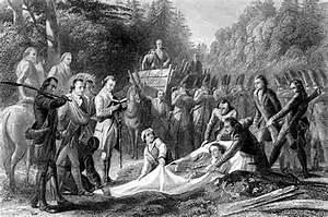Braddock's defeat Battle of Monongahela river