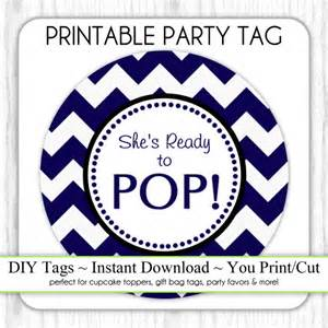 Ready to Pop Baby Shower Free Printables