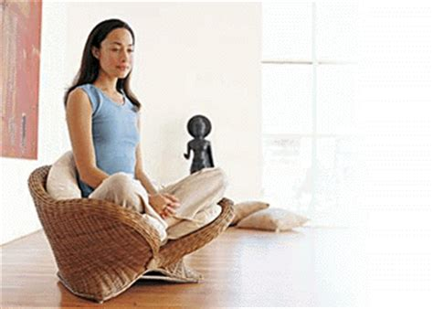 Rattan Lotus Meditation Chair by Relaxation No More Sitting On The Floor Thanks To