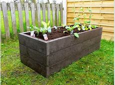 recycled mixed plastic raised beds Kedelcouk