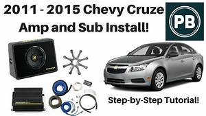 2011 - 2015 Chevy Cruze Kicker Amplifier And Subwoofer Install