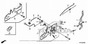 Honda Hrx217k2 Vkaa Lawn Mower  Usa  Vin  Maga