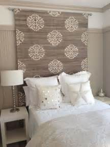ideas for headboards rug heavy fabric headboard ideas