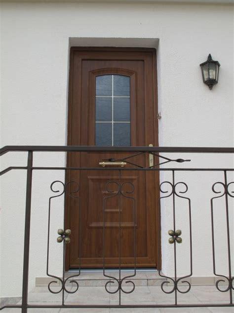 porte d entr 233 e pvc ton bois gst renovation