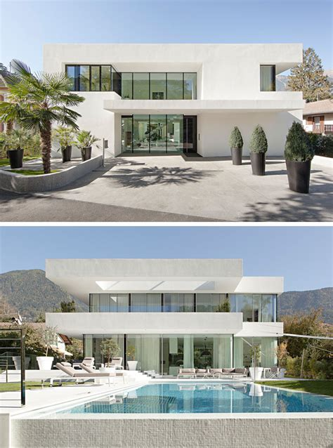 all white homes house exterior colors 11 modern white houses from around the world contemporist