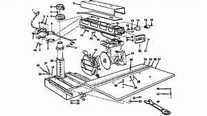 Craftsman 10 U0026quot  Radial Saw Parts