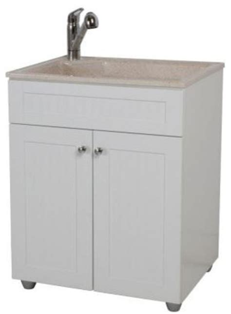 all in one kitchen sink and cabinet woodcrafters all in one 27 in colorpoint premium laundry 9692