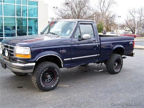 1996 Ford F 150 Specifications by 1996 Ford F 150 Regular Cab Specifications Pictures Prices