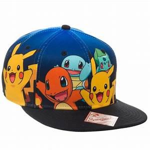 pokemon snapback hats images