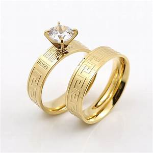elegant gold great wall design wedding rings for couple With wedding ring designs for couple